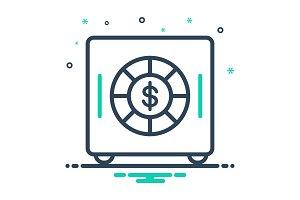 Vault money icon