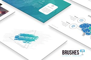 Brushes - Keynote Template