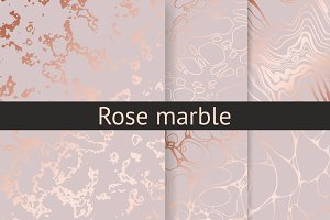 Rose marble collection