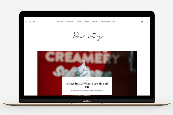 WordPress Magazine Themes: MunichParis Studio - Fashion & Travel Magazine Theme