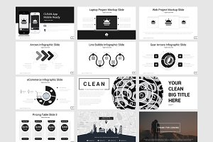 Clean-Powerpoint Template