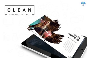 Clean-Keynote Template