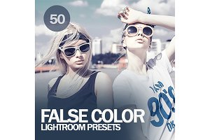 False Color Lightroom Presets