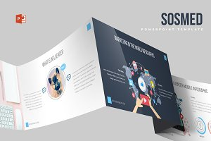 Sosmed Powerpoint Template