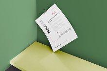 Paper A4 Mock-up 5