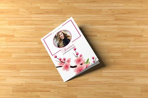 Senior Photography Brochure Template