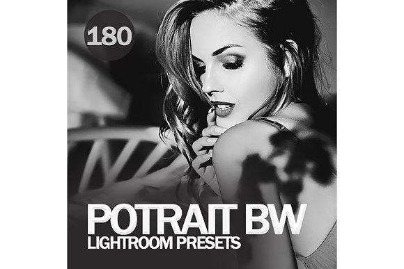 Potrait BW Lightroom Presets
