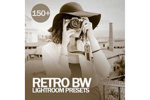 Retro BW Lightroom Presets