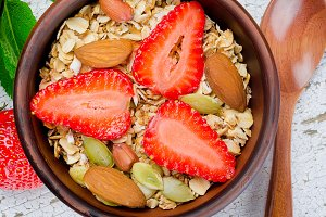 healthy breakfast Homemade  granola
