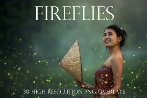 Firefly photoshop overlays