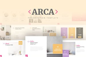 ARCA - Powerpoint Template