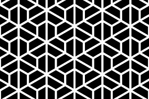 Seamless hexagon pattern texture. Ab
