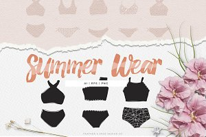 Summer Wear Illustrations