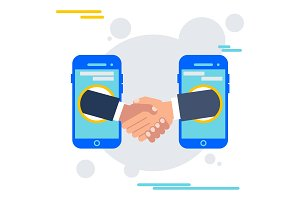deal agreement with mobile device