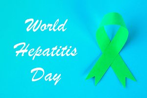 World Hepatitis Day. June 28th. Jade