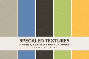 Speckled Textures - Sample Pack