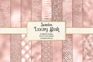 Luxury Blush Textures