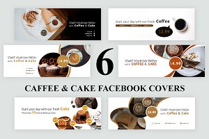 Coffee & Cake Facebook Covers