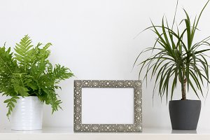 picture frame mockup photo