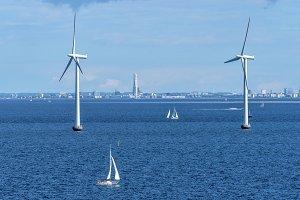 Marine wind farm