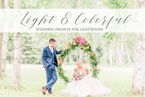 Light & Colorful Wedding Presets