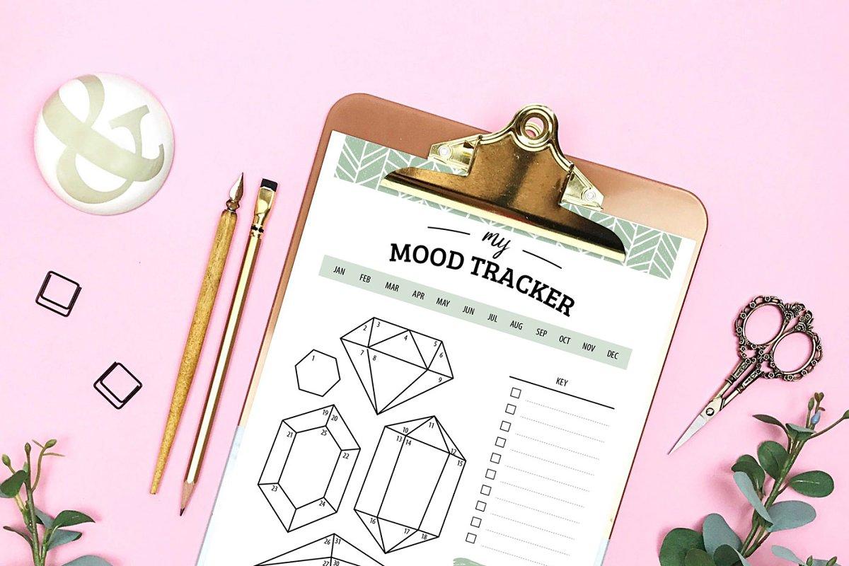 Mood Tracker PDF Printable