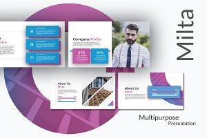 Milta Powerpoint Template