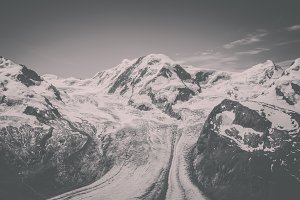 Mountains Scenes in Zermatt, Swiss