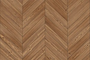 Seamless brown parquet texture