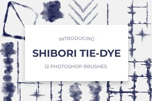 Shibori Photoshop Brushes Vol.1