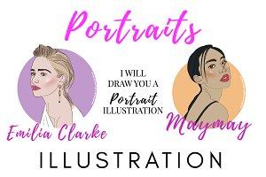 Portrait Illustration (Single)