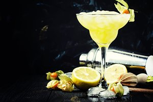 Alcohol cocktail winter passion frui