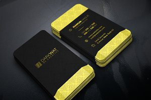 Goldish Creative Business Card