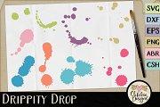 Drippity Drop Vectors & Cut Files
