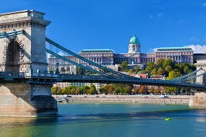 Buda Castle & Szechenyi Chain Bridge