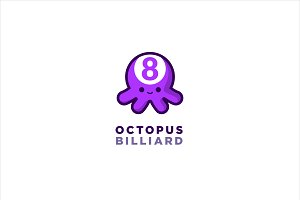 Octopus Billiard Logo