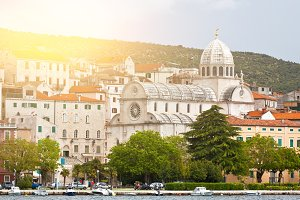 Cathedral of St. James in Sibenik, C