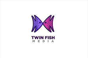 Twin Fish Media Logo