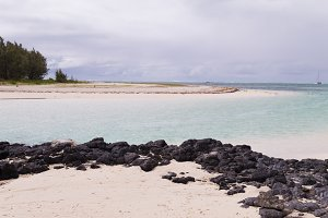 Deer Island in Mauritius