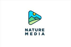 Nature Media Logo