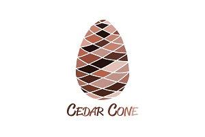 Cedar cone, sketch for your design