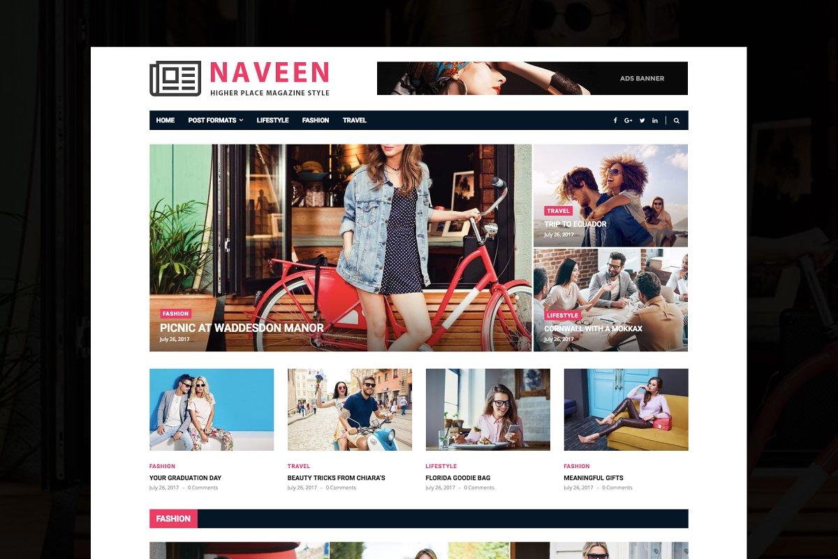 Naveen - Lifestyle WordPress Theme