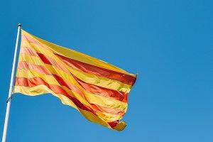 La Senyera, Catalonia Flag