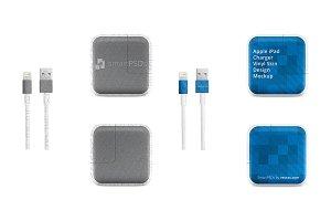 Apple iPad Power Adapter Vinyl Skin