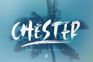 Chester SVG Font