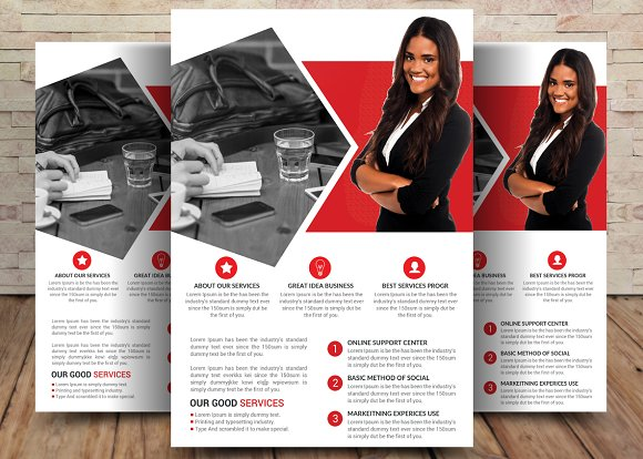 Attractive Business Flyer Template