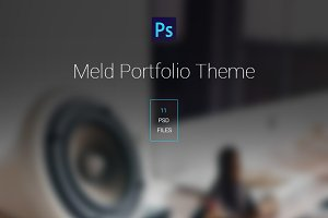 Meld Portfolio PSD Template