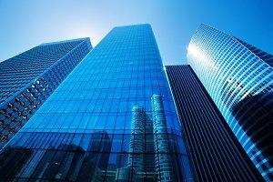Business skyscrapers, Paris, France