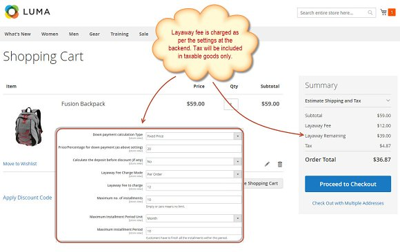Partial Payment Magento 2 Extension