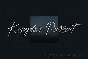 Kingdom Pursuit | Script Font